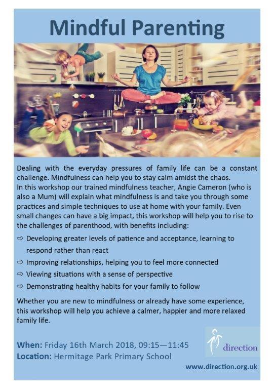 mindful parent leafltet